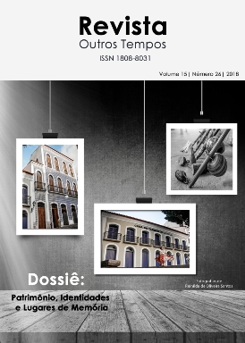Visualizar v. 15 n. 26 (2018): Dossiê: Patrimônio, Identidades e Lugares de Memória